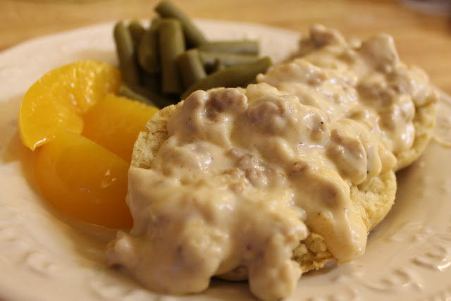 Sausage Gravy via The Taste Tester