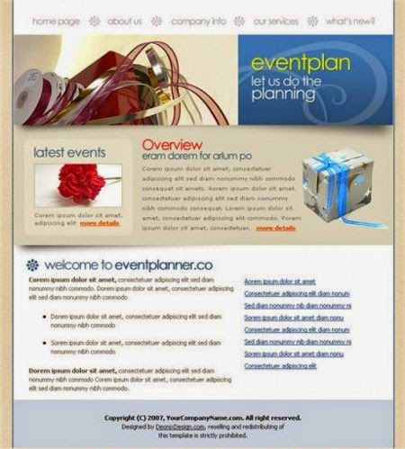 Beautiful Top Best Event Planner Website Templates  Helpers Ways