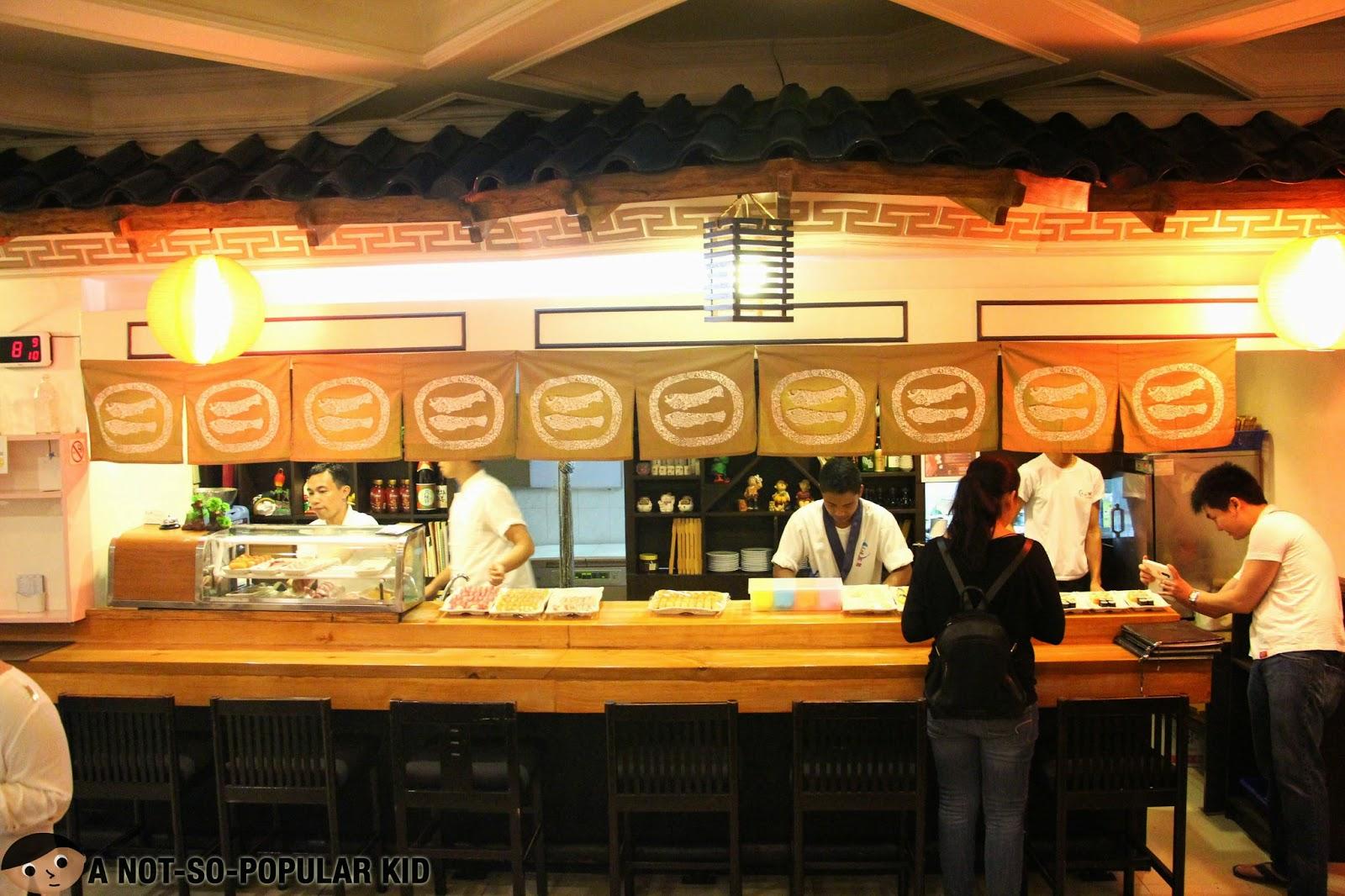 Genji-M in Makati - Sushi chefs