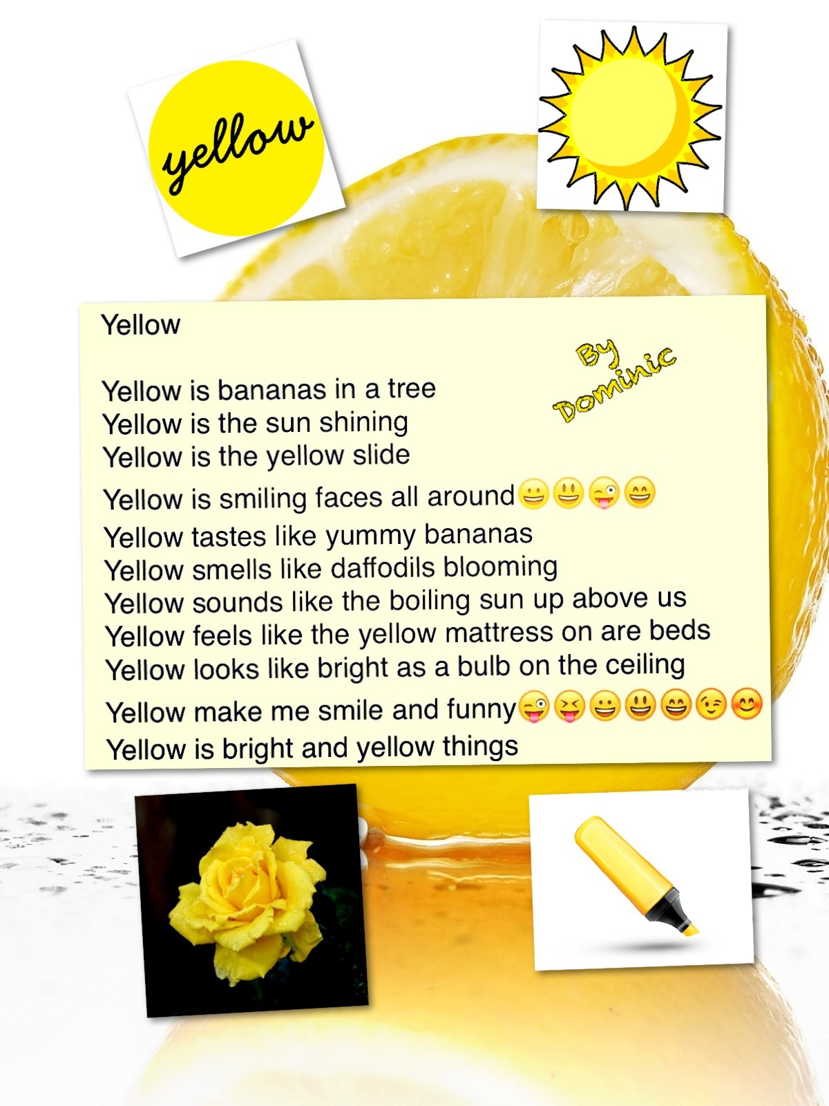 describing the color yellow to a V for vendetta also contains this same technique you describe looking at the color palette, a cold, pale/dull filter is imposed upon scenes taking place in the present and warm light, paired with bright yellows signals (well, it's more of a subliminal effect) events in the past.