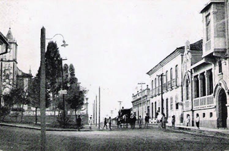 Aspecto Praça do Rosario de Barbacena MG