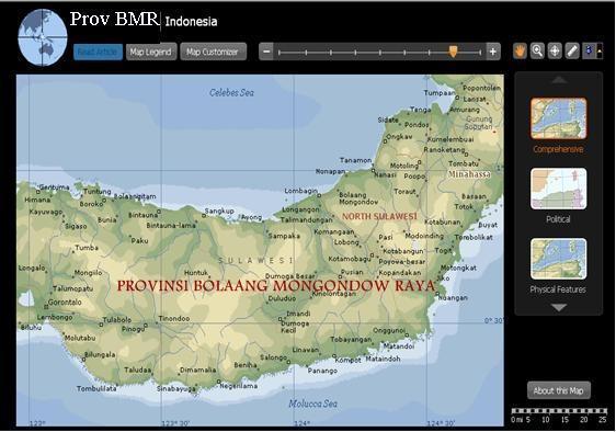 Provinsi Bolaang Mongondow Raya (BMR)