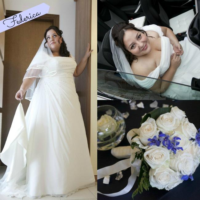 la sposa curvy Federica