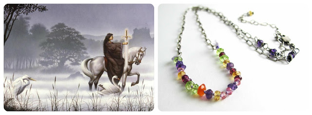 Mists of Avalon Necklace by Beth Hemmila of Hint Jewelry