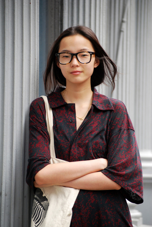 Xiao Wen Ju for i-D Magazine Fall 2014 | The Fashionography