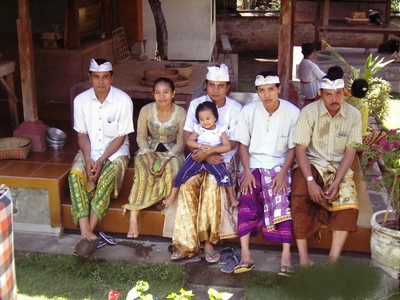 Balinese traditional clothes for prayer