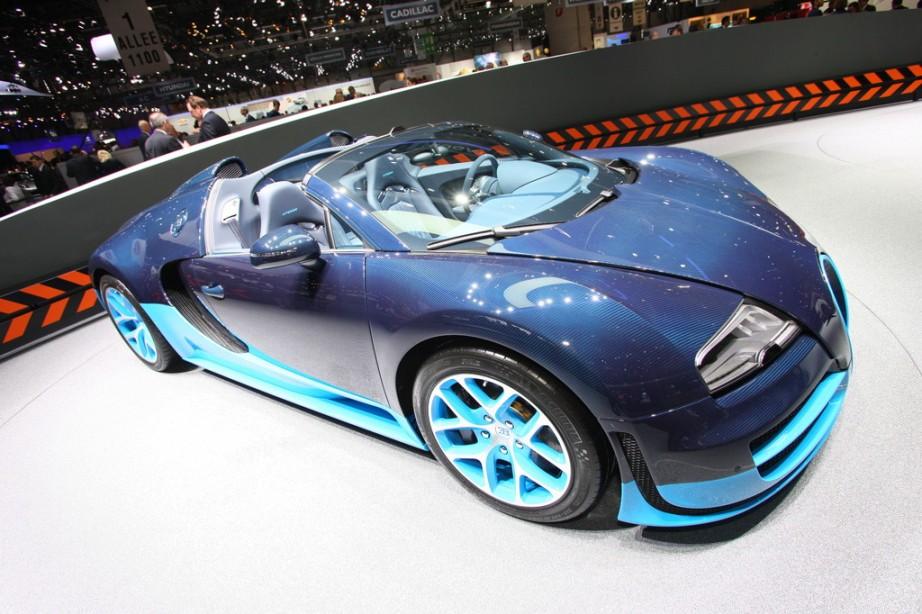 2013 bugatti veyron 16 4 grand sport vitesse roadster live. Black Bedroom Furniture Sets. Home Design Ideas