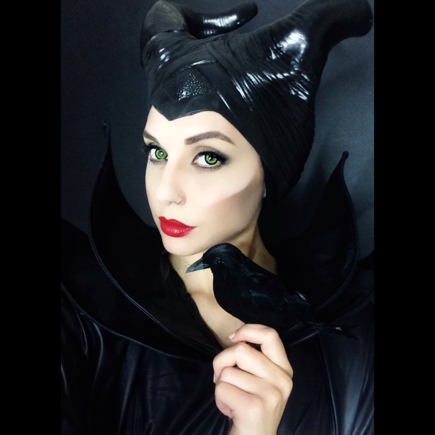 Alexa\'s Style Blog: Maleficent Halloween Makeup Tutorial
