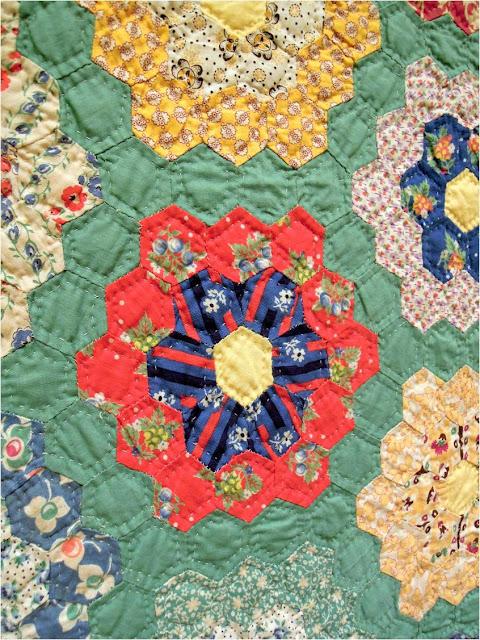 Quilt Inspiration Grandmother 39 S Flower Garden