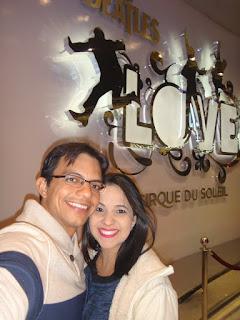 cirque du soleil the beatles love - the mirage casino - las vegas