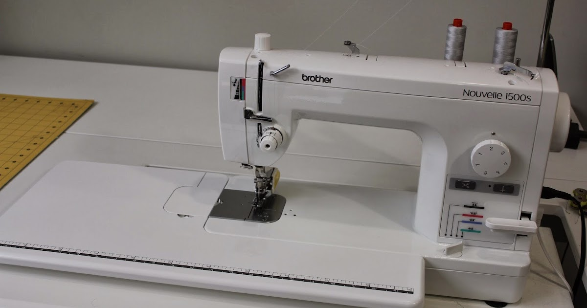 nouvelle 1500s sewing machine