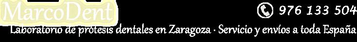 MARCODENT - Laboratorio de prótesis dental en Zaragoza (servicio a toda España)