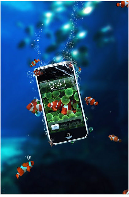 INVISIBLE Waterproof Technology for Phones