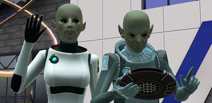 Как сделать что бы сима похитили инопланетяне