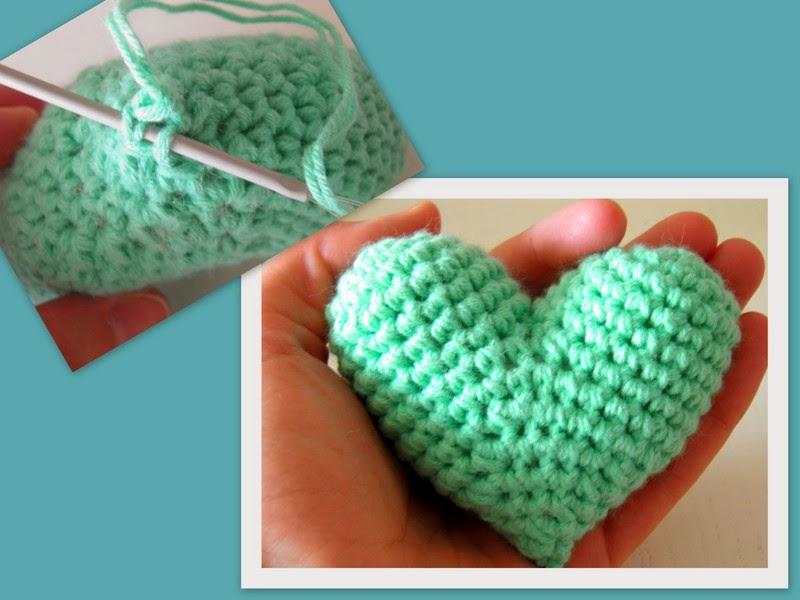 Sin ton ni son: Tutorial: corazón tiernito de amigurumi