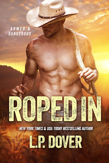 Cover Reveal: Roped In by L.P. Dover