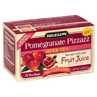 Pomegranate Pizzazz herbal tea