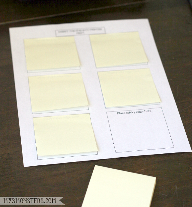 Printable Post-it Notes for your scriptures from my3monsters.com