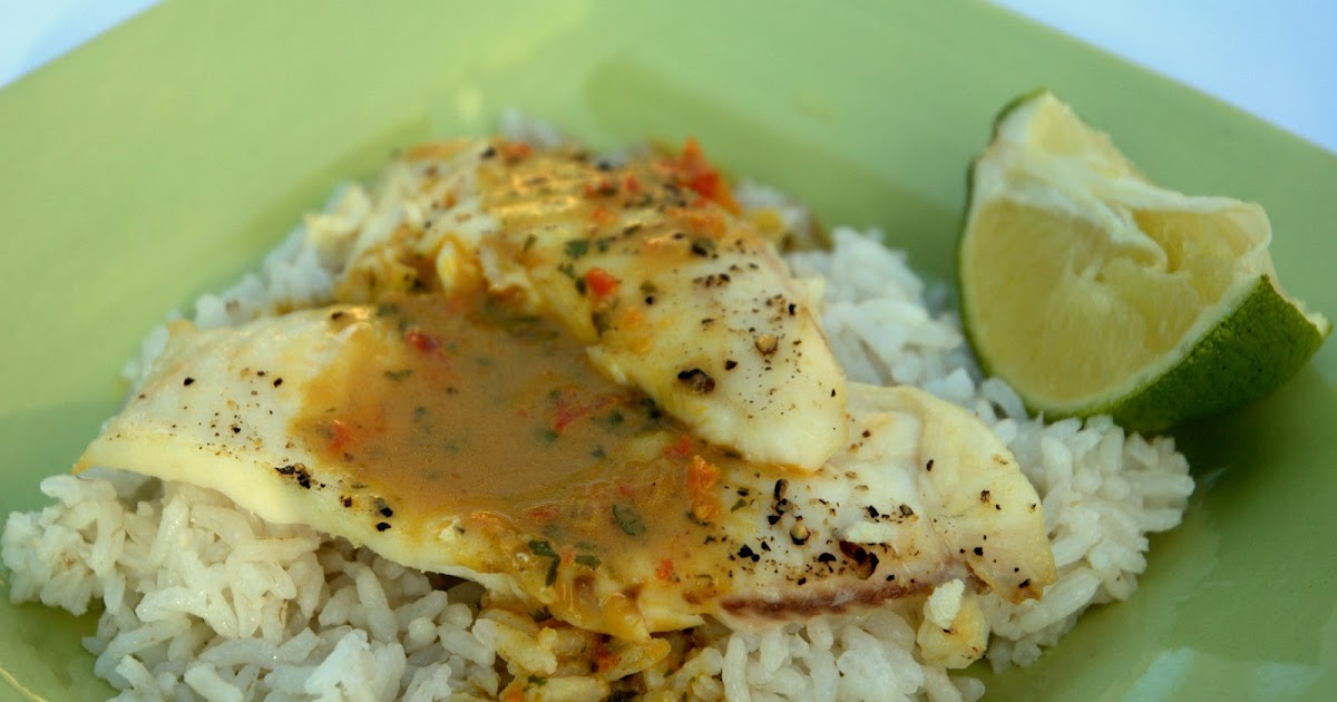 Spice Girl: Tilapia with Coconut Curry Sauce and Coconut Jasmine Rice