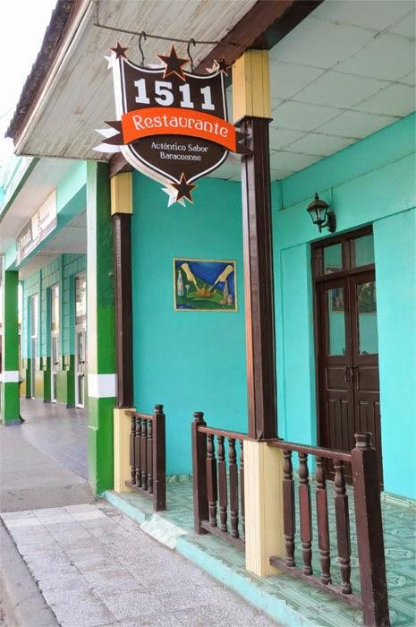 En Baracoa, Guantánamo, un  restaurante particular que perpetúa la fecha de fundación de la primera villa cubana