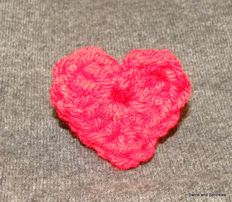 Swirls and Sprinkles: Simple Crochet Heart