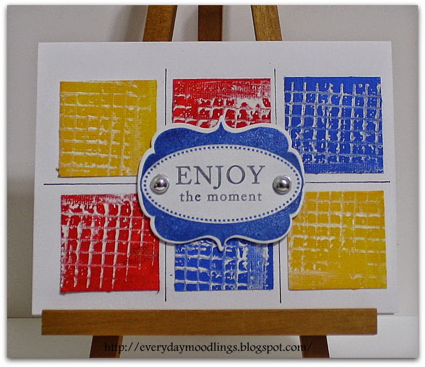 Everyday Moodlings-Canvas Crafts
