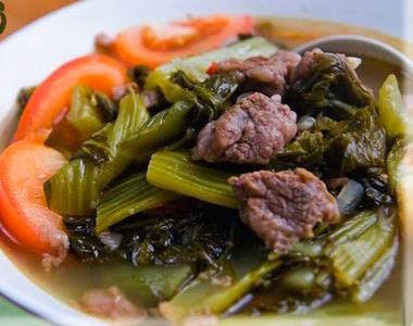 Món ăn ngon: Thịt bò xào cải chua