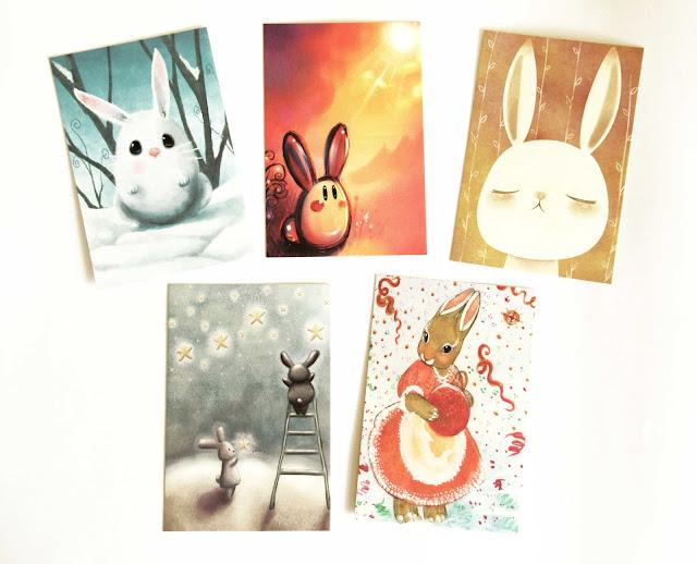 Открытки с иллюстрациями  Kei Acedera
