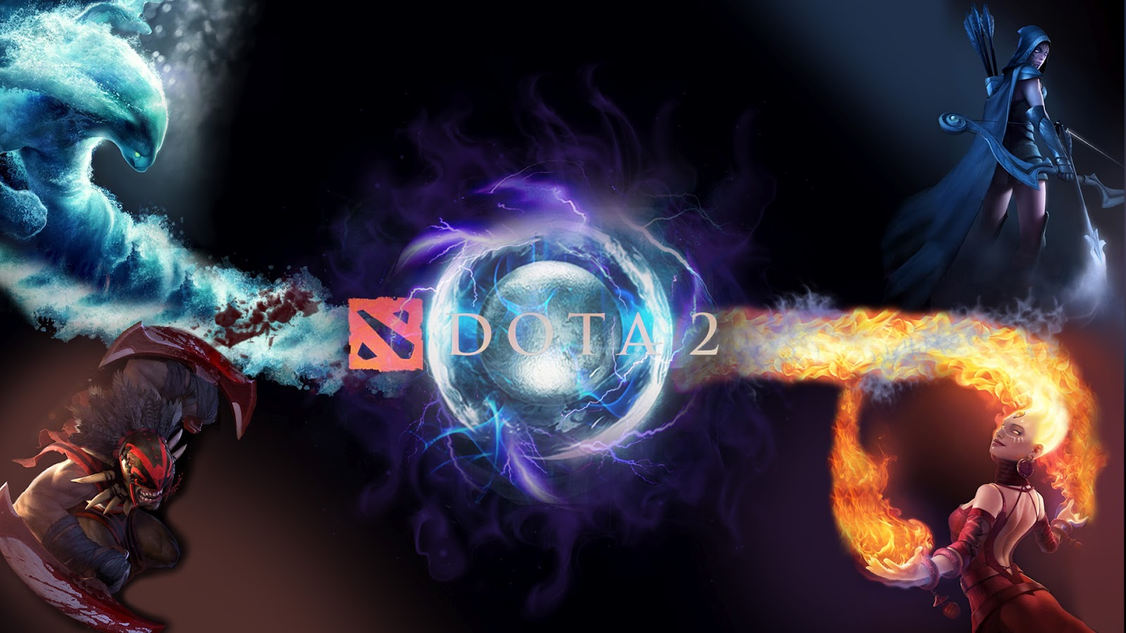 Dota 2 Iphone 4 Wallpaper