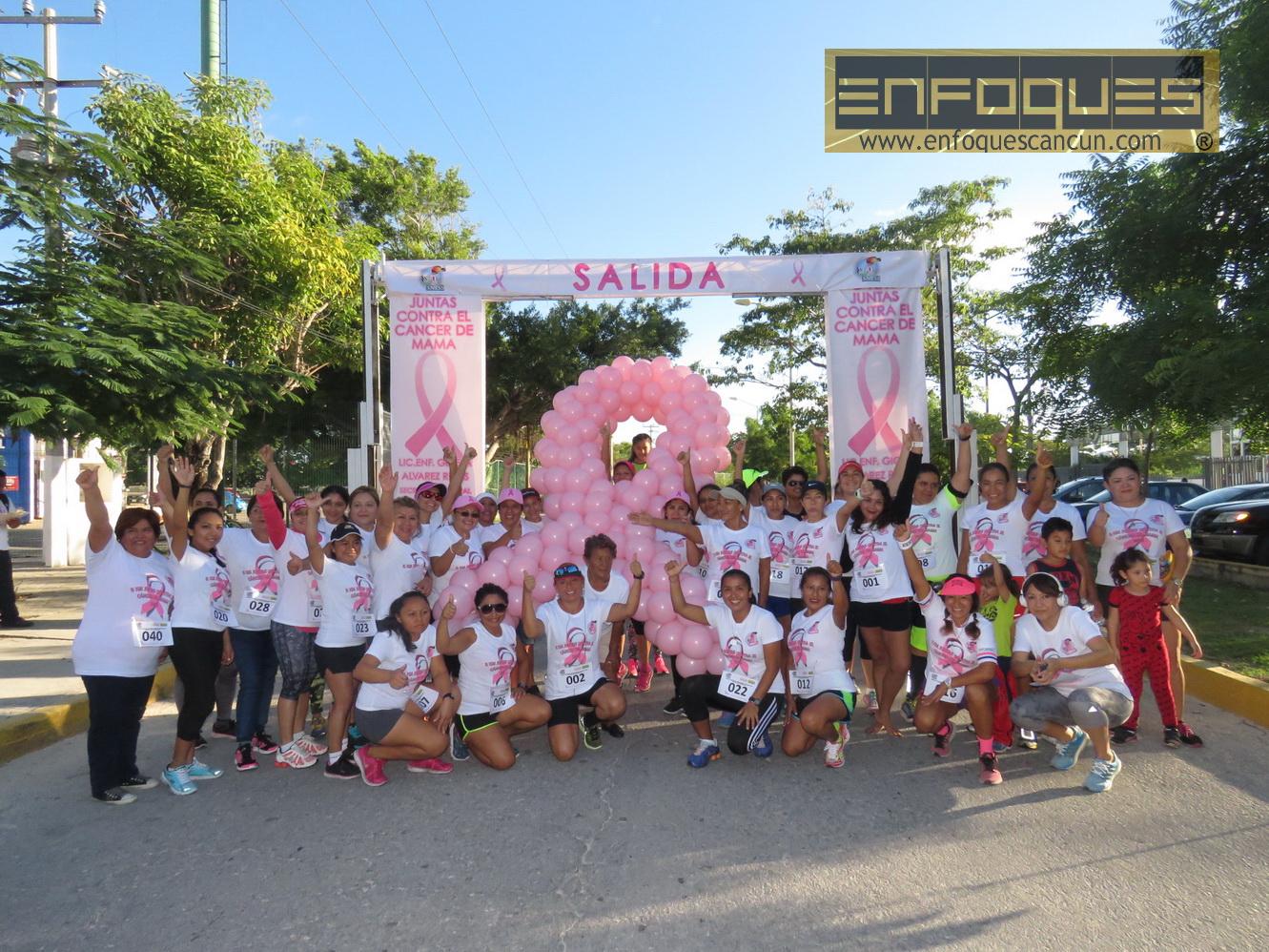 Carrera Juntas contra el Cancer de mama