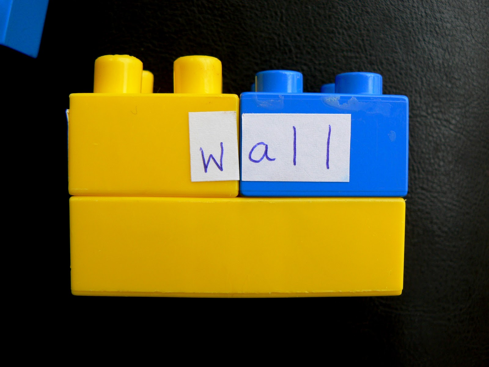 Having Fun at Home: Lego Word Families