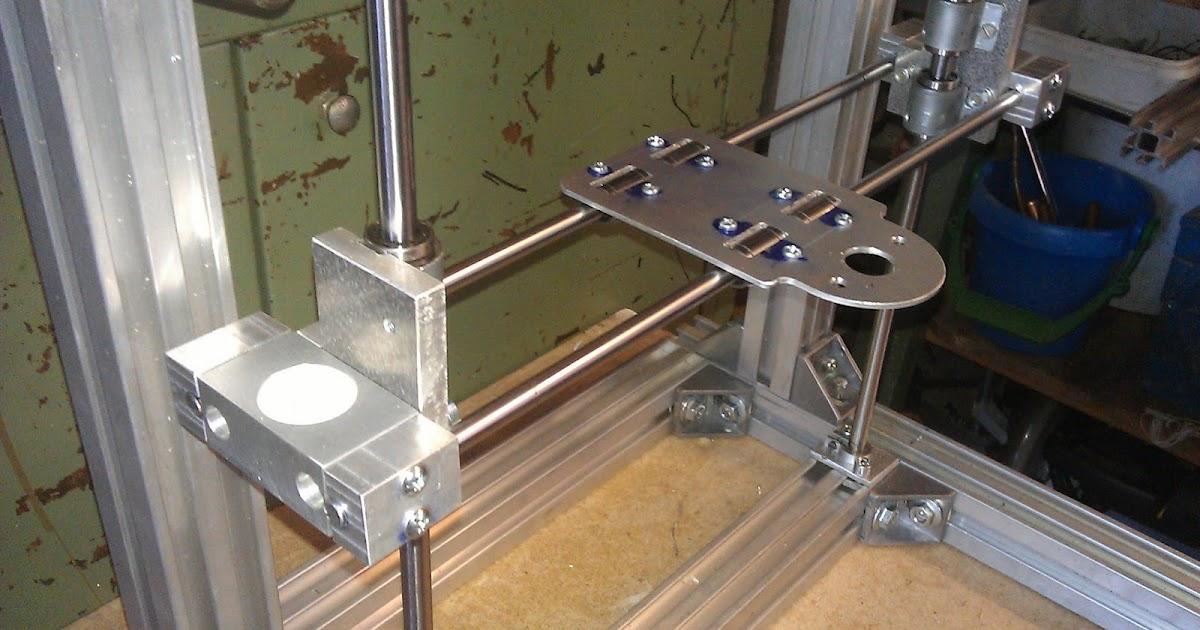 3d drucker im eigenbau aufbau der y achse. Black Bedroom Furniture Sets. Home Design Ideas