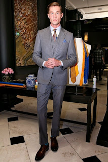 Duchamp, London Collections, LCM, Savile Row, Spring 2015, Suits and Shirts,
