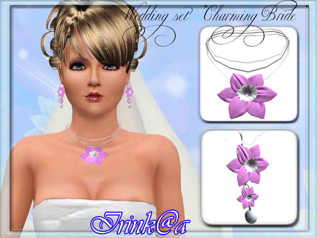 "Irink@a: Wedding set ""Charming Bride"""