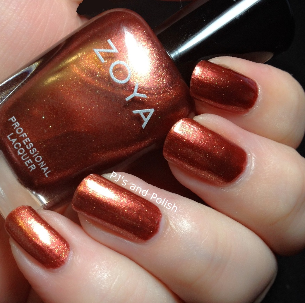 Swatch and Review Zoya Autumn Ignite Collection HK Girl
