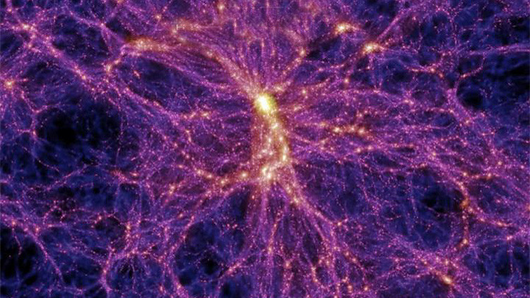 Nuevo componente del universo dentro de una 'red cósmica'