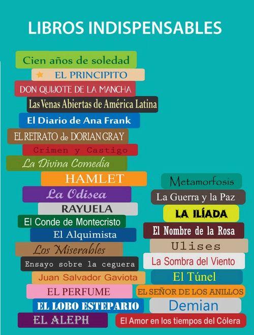 ALGUNOS LIBROS IMPERDIBLES