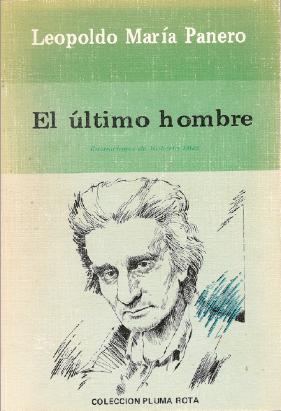 Portada de El último hombre, ediciones Libertarias, 1984.