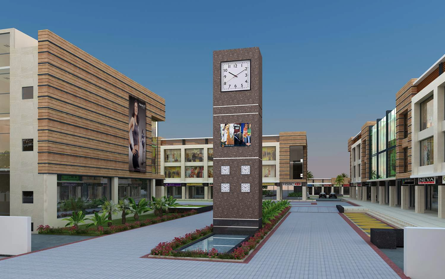 omaxe commercial property in mullanpur