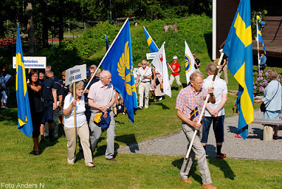 nationaldag, nationaldagsfirande, sveriges nationaldag, nationaldagen, holje park, olofström, blekinge, sverige, sweden, swedish national holiday, foto anders n