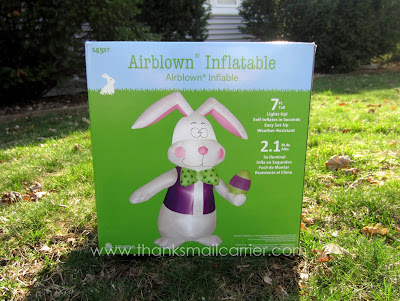 Gemmy Airblown Inflatable Easter Bunny