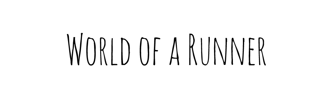 World of a Runner