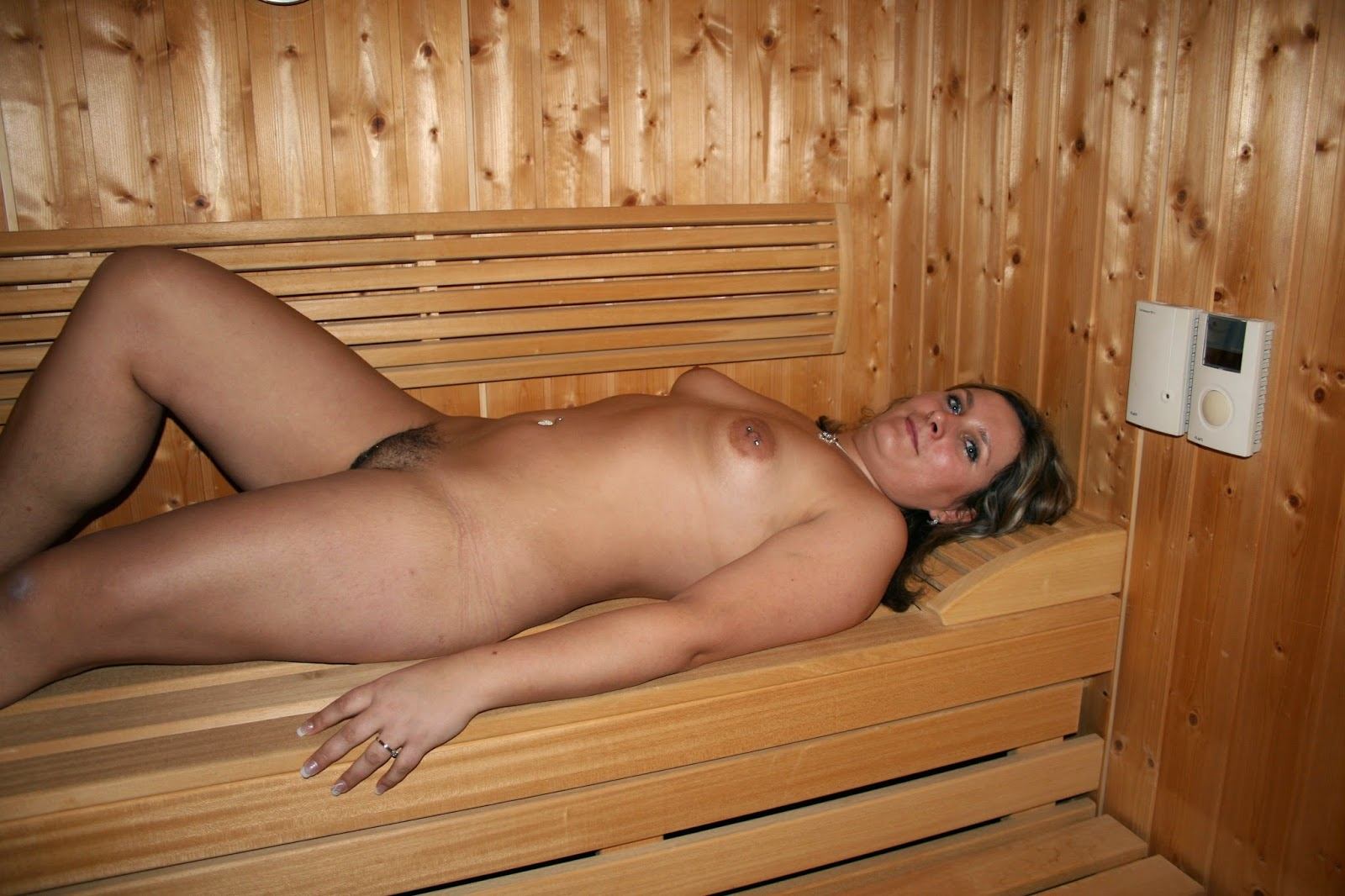 naked in the spa porn