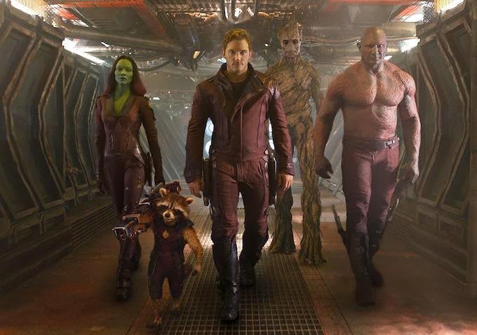 Guardianes de la Galaxia captura del tráiler