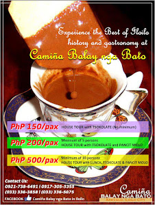 Tsokolate Tour at Camiña Balay nga Bato