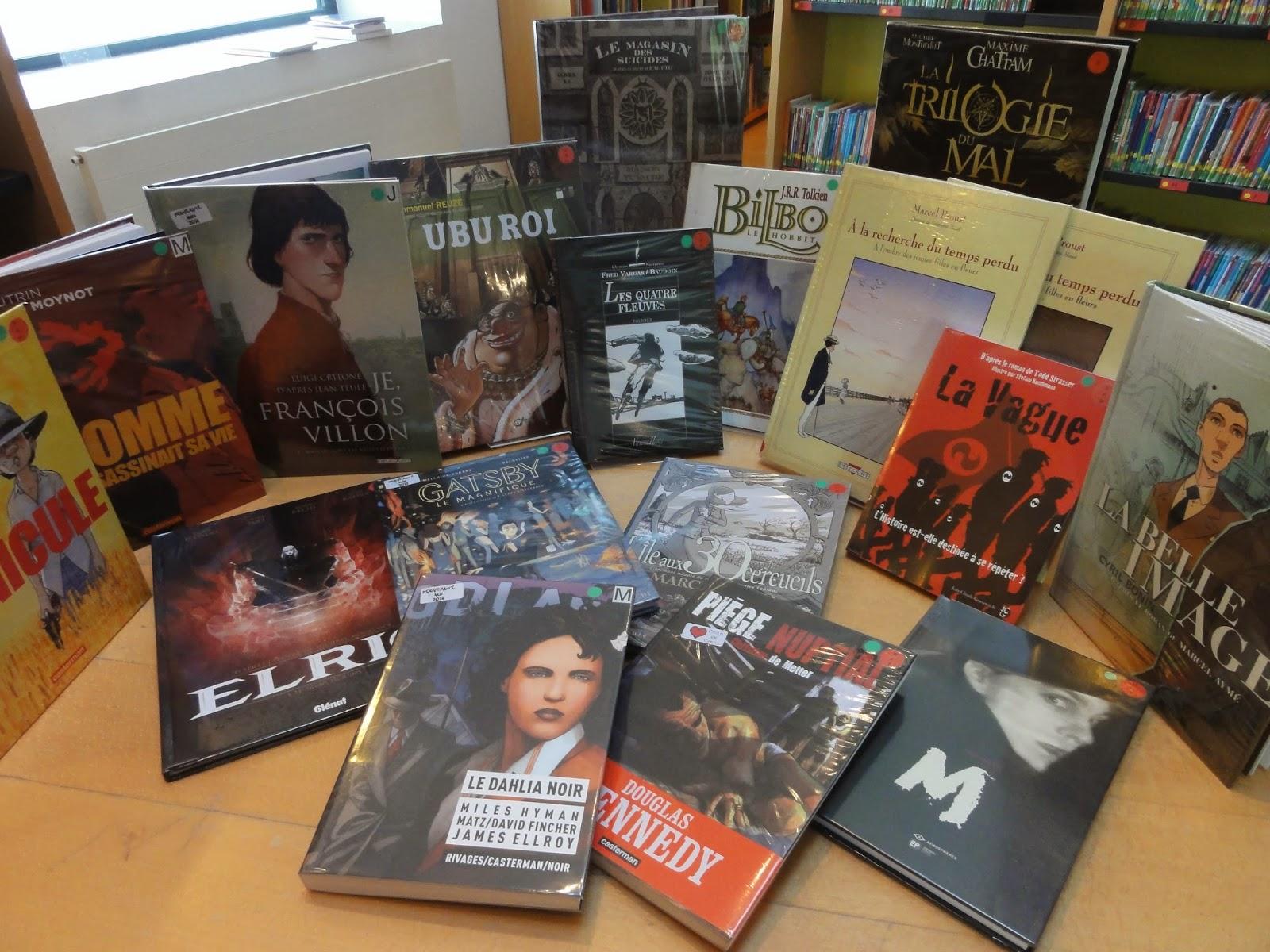 liste des adaptations de romans en BD