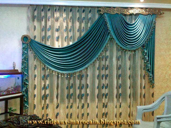 rideaux marocain autre style des rideaux occultants 2013. Black Bedroom Furniture Sets. Home Design Ideas