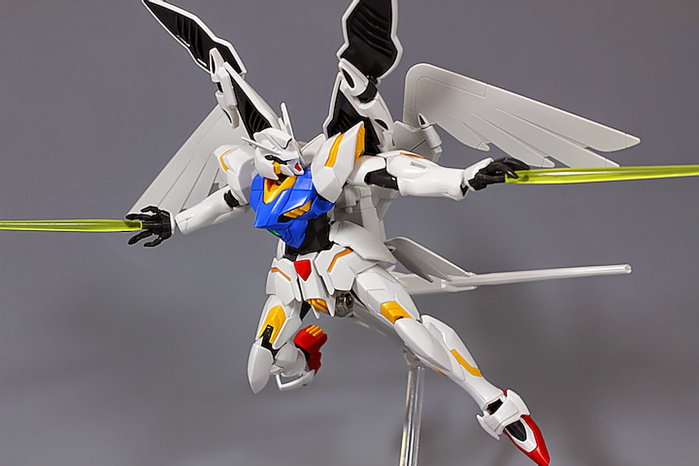 Gundam guy hgbc 1 144 portent flyer review by hobby no for Portent flyer 1999