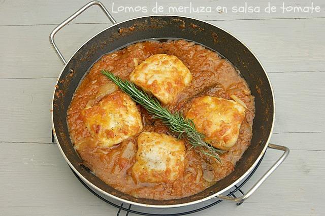 Como Cocinar Lomos De Merluza | Lomos De Merluza En Salsa De Tomate Atrapada En Mi Cocina