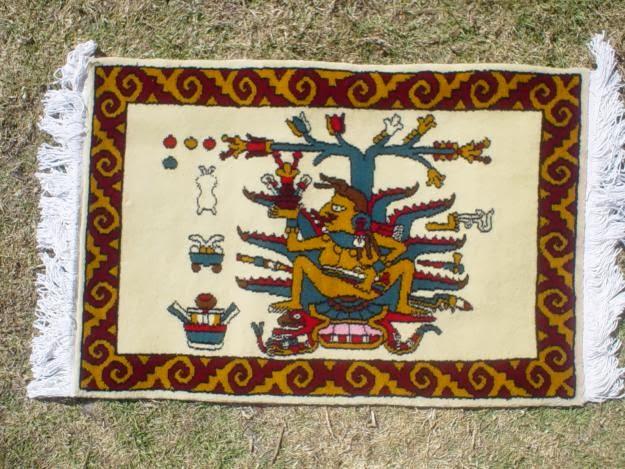 Patrimonio mx 2014 estado de m xico caracter sticas del for Tapetes anudados a mano